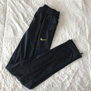 Black Athletic Nike Adjustable Joggers
